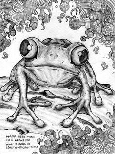 Tree Frog by HeartofaLion93.deviantart.com on @deviantART
