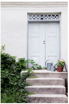 Doors can be so Desirable. Outdoor Spaces, Outdoor Living, Outdoor Decor, Entrance Doors, Doorway, Front Doors, Painted Doors, House Rooms, Windows And Doors