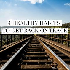 4 healthy habits to get back on track and lose weight after the summer. It's easier than you think! --> MyCopenhagenKitchen.com