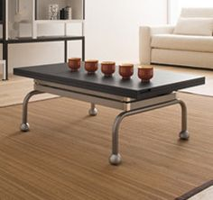table basse relevable et transformable forli paris. Black Bedroom Furniture Sets. Home Design Ideas