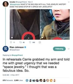 "19 Things We Know About ""The Last Jedi"" From Rian Johnson's Twitter"