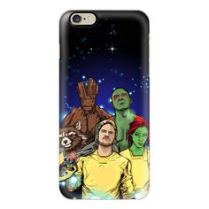 iPhone 6 Plus/6/5/5s/5c Case - Guardians of the Galaxy StarLord Gamora... ($40) ❤ liked on Polyvore featuring accessories, tech accessories, iphone case, iphone cover case, slim iphone case and apple iphone cases