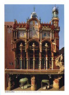 These are two of the finest contributions to Barcelona's architecture by the Catalan art nouveau architect Lluís Domènech i Montaner. The Palau de la Música Catalana is an exuberant steel-framed structure full of light and space, and decorated by many of the leading designers of the day. The Hospital de Sant Pau is equally bold in its design and decoration, while at the same time perfectly adapted to the needs of the sick.