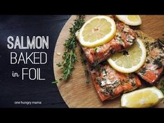 Easy, mess-free Salmon Baked in Foil Avocado Rice, Avocado Toast, Healthy Recipes, Healthy Foods, Free Recipes, Family Meals, Family Recipes, Baked Salmon, Meatloaf