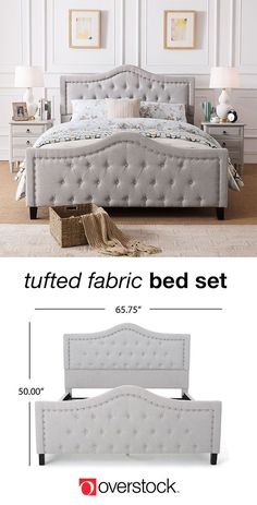 Find everything you need to give your bedroom a refresh at Overstock.com. Shop thousands of products and beautiful new furniture, including this tufted bed, at the lowest prices---coffee tables, lamps, home décor, and more! Overstock.com -- All things home. All for less.