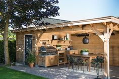 For the best of this garden room (type Cannes) only first-class oak wood will be Backyard Pavilion, Backyard Sheds, Backyard Retreat, Deck With Pergola, Outdoor Pergola, Backyard Pergola, Pergola Kits, Pergola Lighting, Backyard Patio Designs