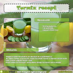 Recept egy egyszerű zöldturmix elkészítéséhez #recept #turmix