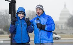 Jim Cantore and friend