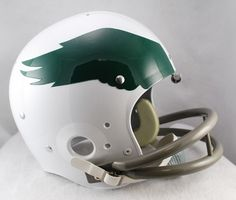 Philadelphia Eagles helmet logo 1969 - 1972.