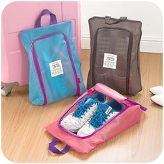 ea2aeceabc XB-SNB049 Shoes Storage Organizer Waterproof Basket women men bag travel  Handbag Necessities items Accessories