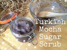Turkish Mocha Sugar Scrub Recipe 1