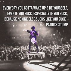 Patrick Stump quote
