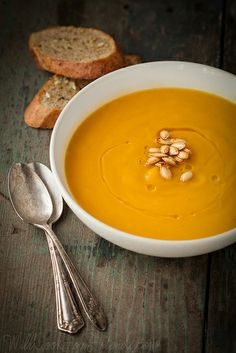 Roasted Butternut Squash Soup with Sage | Will Cook For Friends