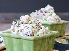 Dilled Potato Salad - Wasn't a lot different than the recipe I already use, but it was good!