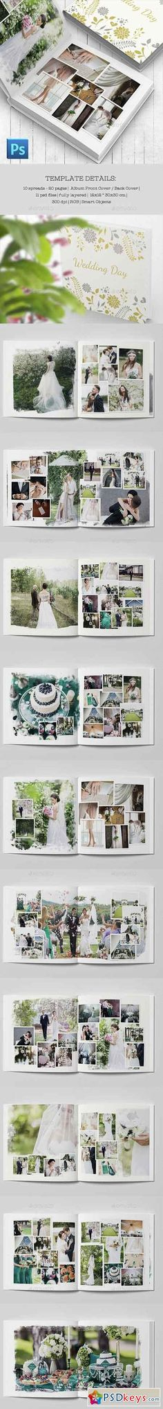 Buy Wedding Photobook Template By TheSeventhDesire On GraphicRiver Just Add Your Favorite Photos And Will Be Ready
