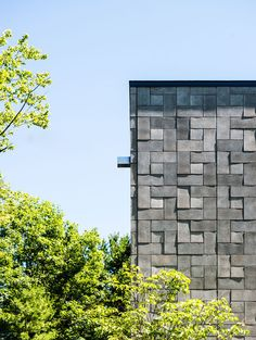 modern exterior by Kariouk Associates via Houzz .....CMU concrete masonry unit.....nice article on it's uses...crl