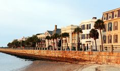 The Battery in Charleston, South Carolina