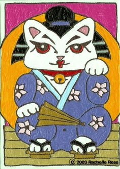 Maneki Neko AKA The Lucky Cat