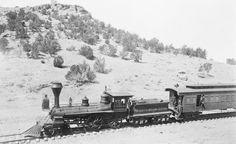 The first railroad train reaches Prescott, AZ   Jan. 1, 1887