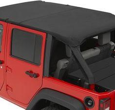 Bestop JK Jeep Wrangler Bikini Top Combo Set