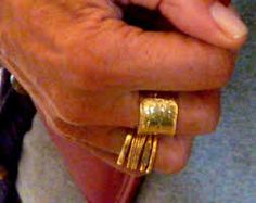 Image result for contemporary gold ring
