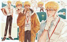 Haikyuu Tsukishima, Haikyuu Meme, Haikyuu Fanart, Haikyuu Ships, Bokuto Koutarou, Tsukkiyama, Haikyuu Characters, Anime Characters, Fictional Characters