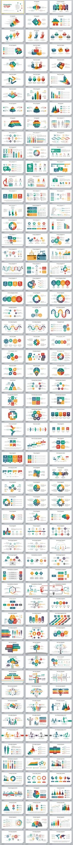 174+ Best infographics multi-industry PowerPoint template #powerpoint #templates #presentation #animation #backgrounds #pptwork.com #annual #report #business #company #design #creative #slide #infographic #chart #themes #ppt #pptx #slideshow
