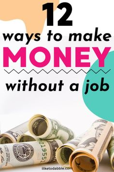 How to make money fast without a traditional job Fast Cash, Make Money Fast, Make Money From Home, Earn Money Online, Online Jobs, High Yield Savings Account, Work From Home Tips, How To Get Rich, Money Tips