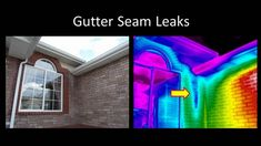 www.UtahInfraredInspection.com Moisture Detection using Infrared Cameras and thermal imaging technology during Utah Home and Building Inspections