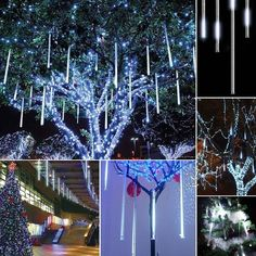 Strong-Willed Ice Cube Shaped Battery Powered Christmas Lights Light Holiday Garden Party Christmas Outdoor Lighting