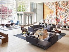 Key Center Lobby Reposition, Bellevue, SkB Architects
