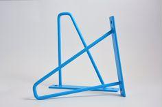 "Pair of Light Blue Steel Brackets - 8"" x 8"" - Metal Brackets - Shelf Bracket - Iron Bracket - Painted Bracket - Unique Bracket"