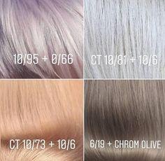 Color Correction Hair, New Hair Colors, Hair Colour, Hair Color Formulas, Hair Toner, Hair Color Techniques, Hair Color Highlights, Great Hair, Purple Hair