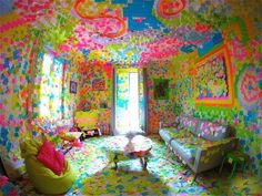 Colorful room