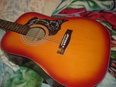 Harmony Hummingbird Acoustic Guitar