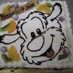 Samson en gert taart van Bakkerij Excellence http://www.excellence.be