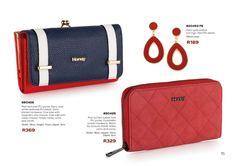 Zip Around Wallet, Plating, Fashion Accessories, Honey, Purses, Navy, Red, Handbags, Hale Navy