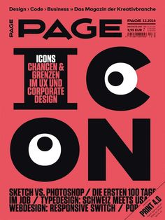 #pagemag 12.2016 #icons #icondesign #corporatedesign #uxdesign #webdesign #typedesign