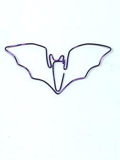 Segnalibro Bat filo personalizzato di Wirelings su Etsy