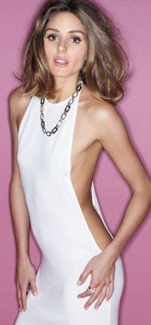 Dress – Halston, Necklace – Chanel