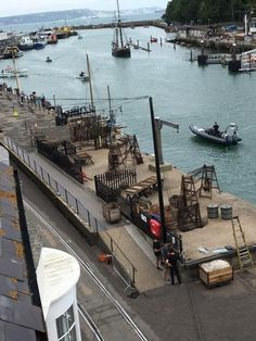 Wed July 27: Filming in Weymouth today for war epic Dunkirk - Christopher Nolan, was spotted shooting scenes on the harbour front with actor Mark Rylance. http://www.dorsetecho.co.uk/news/14644572.Filming_in_Weymouth_today_for_war_epic___as_Tom_Hardy_said_to_be_in_resort/