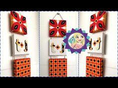 Diy Decorando a cozinha com quadrinhos decorativos- Faça você mesmo|Tatiane Xavier - YouTube