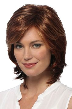 Estetica Natalie Synthetic Wig, Golden Blonde with Pale Blonde highlights and Golden Brown roots Haircut Styles For Women, Short Haircut Styles, Short Bob Hairstyles, Short Hairstyles For Women, Cool Hairstyles, Hairstyle Ideas, Layered Hairstyles, Bob Haircuts, Beautiful Hairstyles