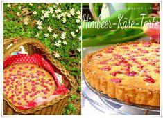 Himbeer-Käse-Tarte, funktioniert mit jedem Obst und ist irre lecker :) #backen #kuchen #käsekuchen #tarte