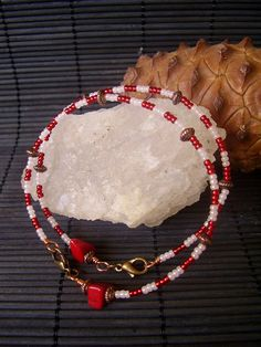 Shango Bracelet  The Orisha Of Justice by houseofeleggua on Etsy, $18.00