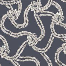 Papier peint - Cole and Son - Rope - Gris