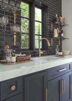 Corner Cabinetry - CLICK PIC for Many Kitchen Ideas. #kitchencabinets #kitchenisland