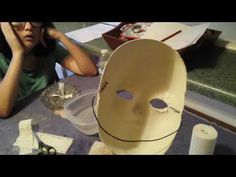 Silent Hill nurse part 1-Halloween mask DIY - YouTube