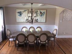 Hooker Furniture Dining Room Corsica Rectangle Pedestal Dining Table - Hooker corsica dining table