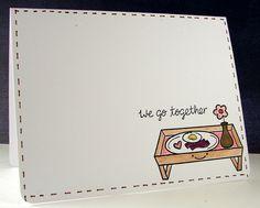 eggs and bacon love card :)